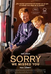 Cartel de la pelicula Sorry we missed you