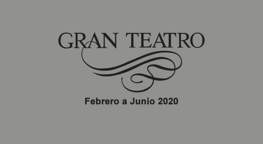 Gran Teatro Elche Febrero - Junio 20