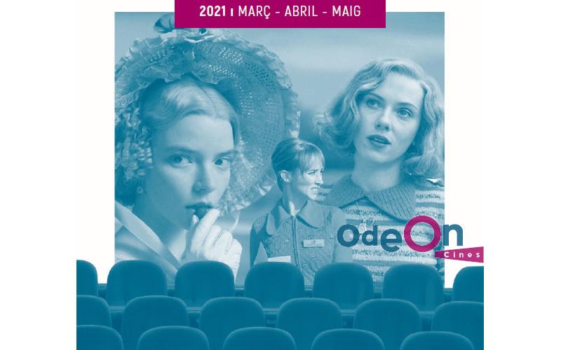 Folleto Peliculas del Odeon de marzo a mayo 2021
