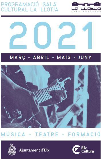 Programacion de la Llotja de marzo a junio 2021