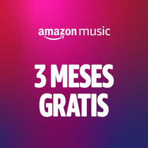 Banner Amazon Music 3 Meses Gratis