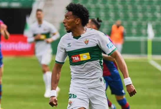 Johan Mojica en el Elche CF