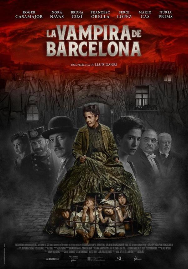 Cartel de la pelicula la vampira de barcelona