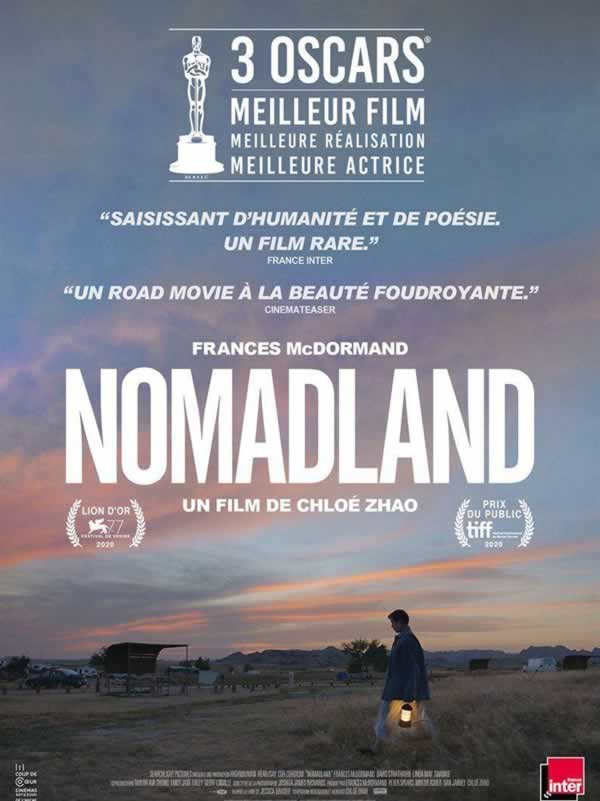 Cartel de la pelicula nomadland